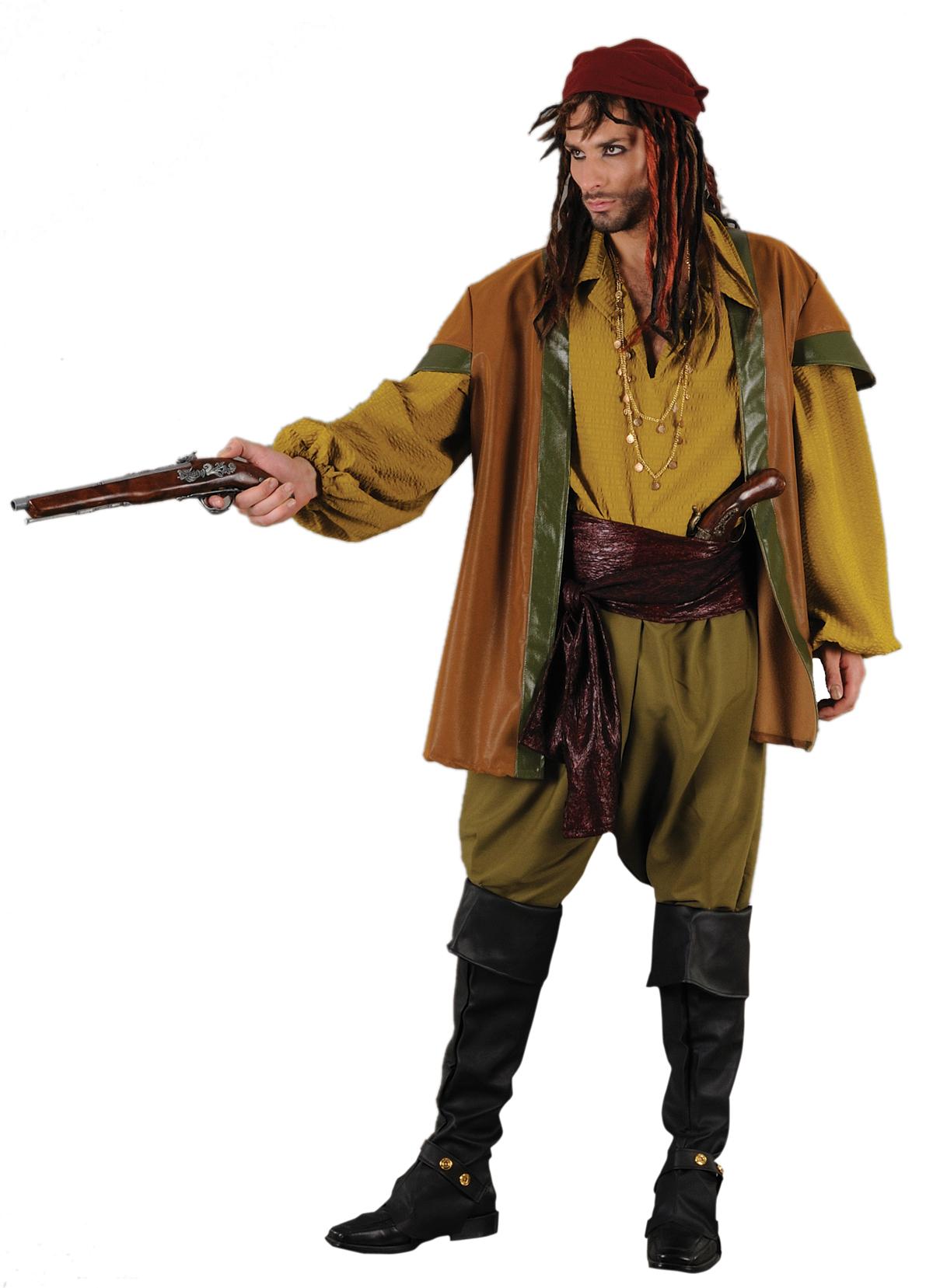 Costum Carnaval Barbati Pirat Elegant