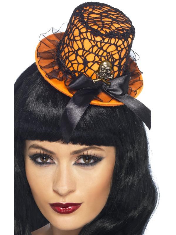 Mini Palarie Halloween Cu Bentita Diverse Culori