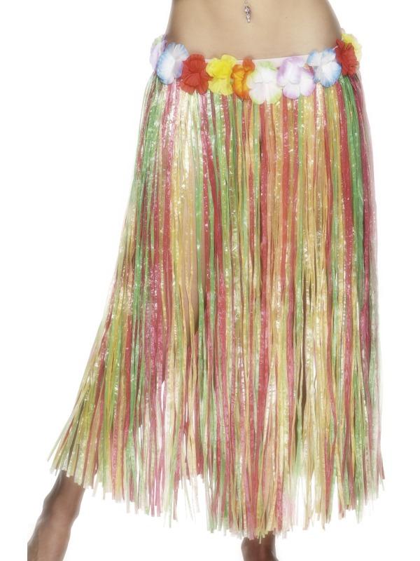 Fusta Hula Hawai Multicolora