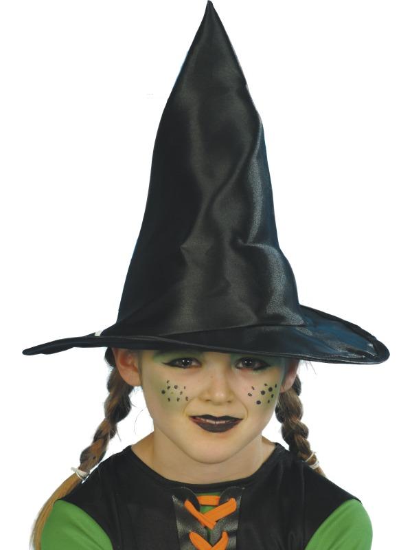 Palarie Halloween Copii De Vrajitoare Neagra Bruno The Funny Shop
