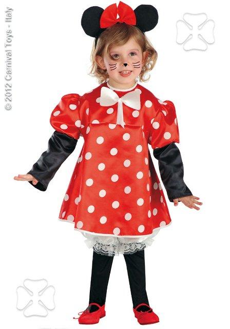 Costum Carnaval Copii Minnie Cu Pantalonasi