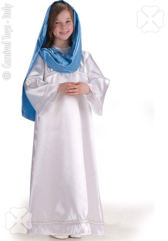 Costum Craciun Copii De Fecioara Maria Alb