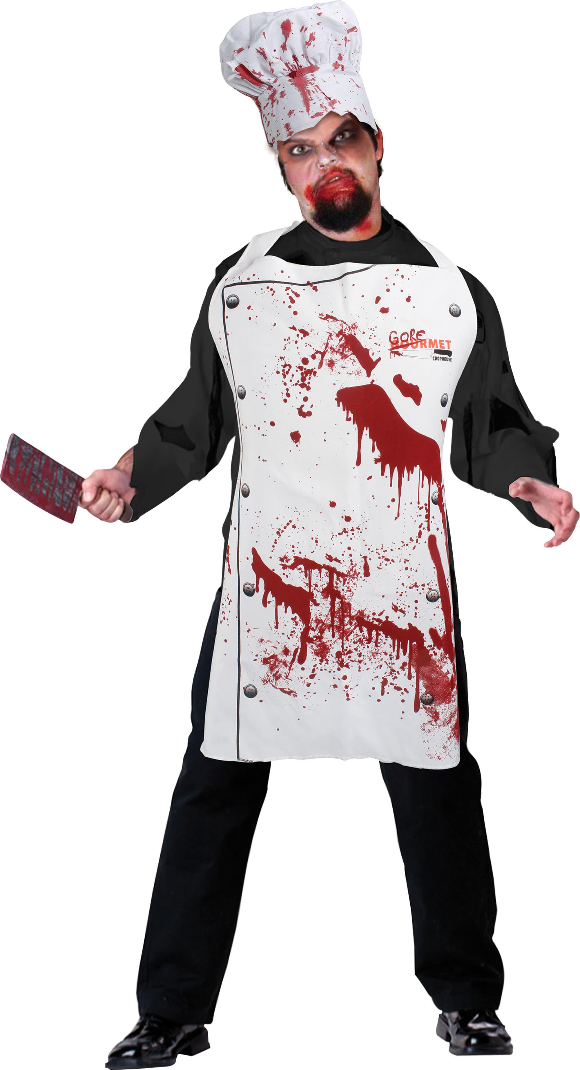 Set halloween bucatar insangerat bruno the funny shop for Cuisinier zombie