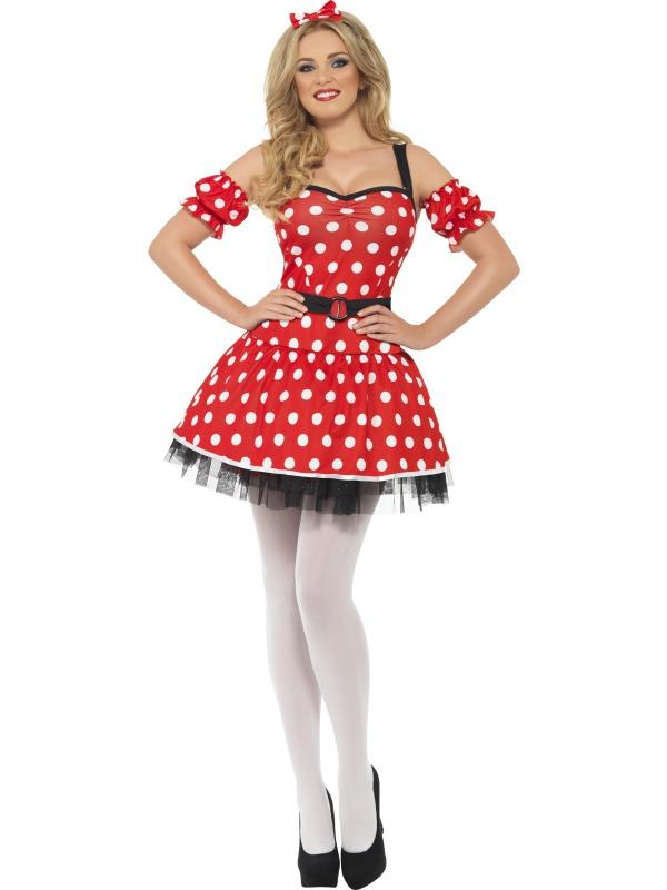 Costum Carnaval Femei Madam Mouse