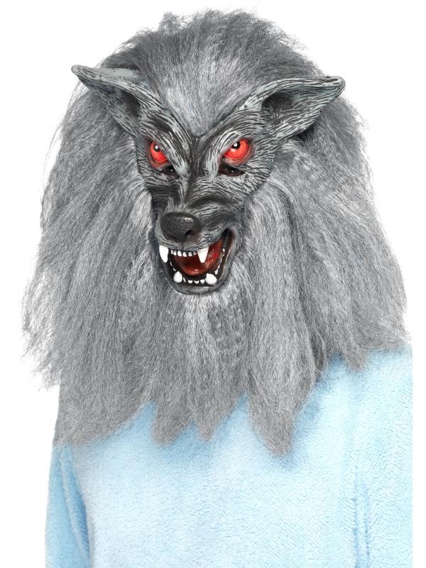 Masca Horror Varcolac Gri