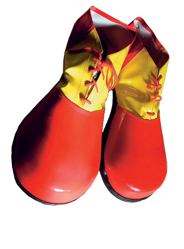 Pantofi De Clown Uriasi Bicolori