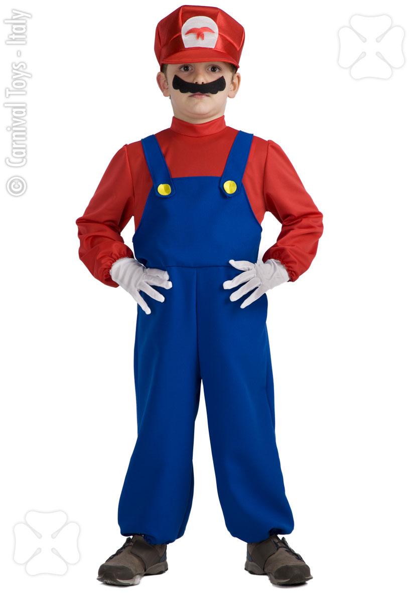 Costum Carnaval Copii Super Mario