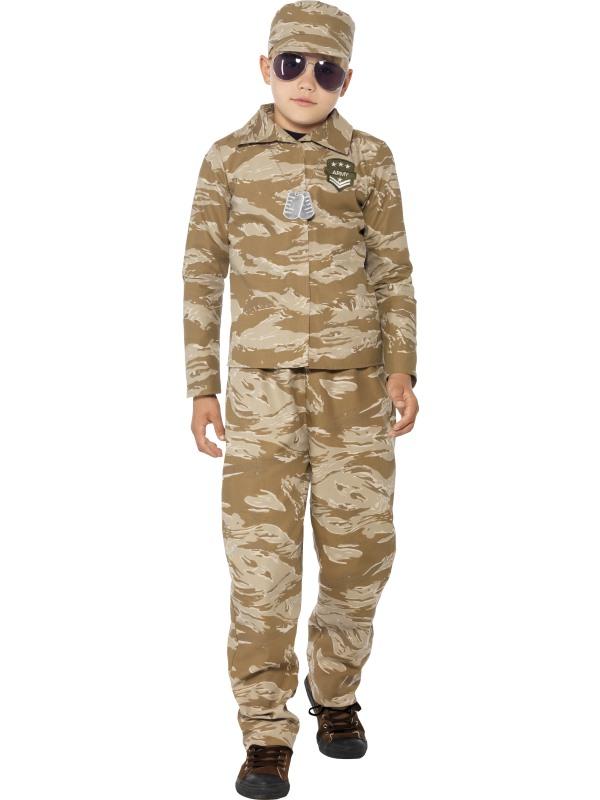 Costum Carnaval Copii Soldat Army