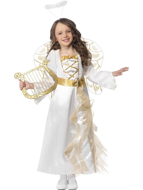 Costum Craciun Copii Inger Auriu