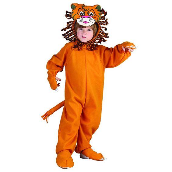Costum carnaval copii leu portocaliu