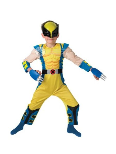 Costum Carnaval Copii Wolverine(cu Licenta)