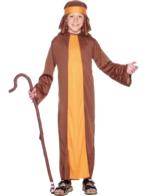Costum Craciun Copii Pastor Iosif In 2 Culori