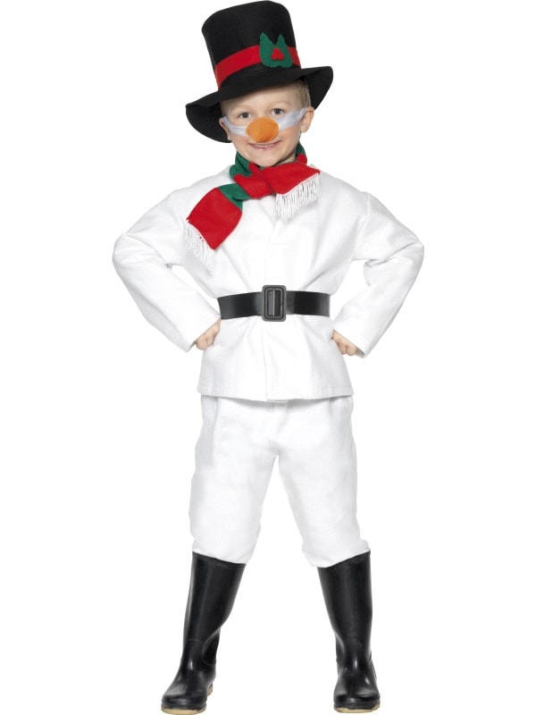 Costum Craciun Copii Om De Zapada Complet