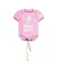 Balon folie Body It's a baby girl