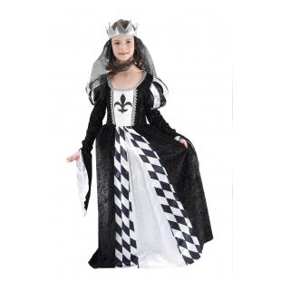 Costum Carnaval Copii Regina Neagra