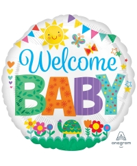 Balon folie welcome baby spring