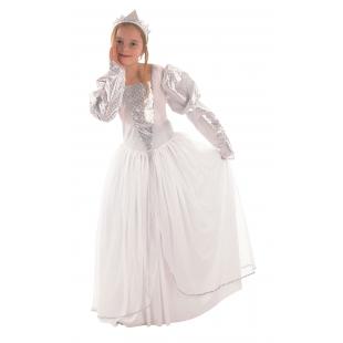 Costum Craciun Copii Printesa Zapezii