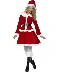 Costum Craciunita Miss Santa