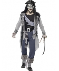 Costum Halloween Adulti pirat Haunted Swashbuckler