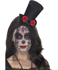 Mini palarie Halloween Day of the Dead