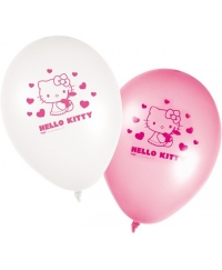 Set 8 baloane HELLO KITTY
