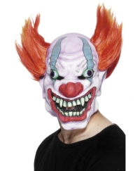 Masca horror clown cu par