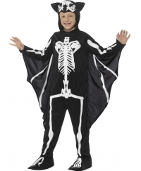 Costum Halloween copii schelet liliac