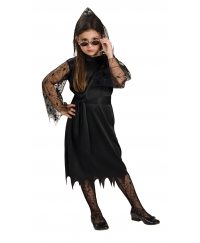 Costum Halloween copii vampirita gotica