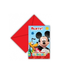 Set 6 invitatii Mickey Mouse Clubhouse