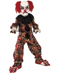 Costum Halloween Copii Clown Colorat Horror