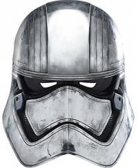 Masca de carnaval de Captain Phasma Star Wars
