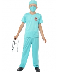Costum carnaval copii doctor chirurg