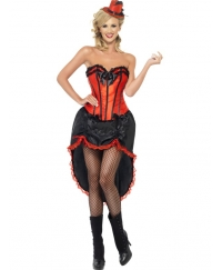 Costum Halloween adulti Burlesque Dancer