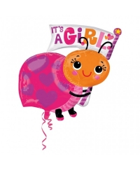 Balon folie gargarita IT'S A GIRL