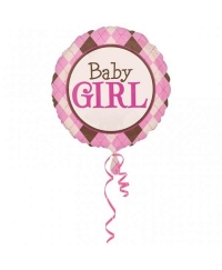 Balon folie 81 cm Baby Girl