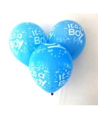 Set baloane latex It's a Boy