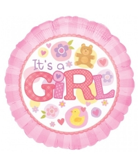 Balon folie IT'S A GIRL