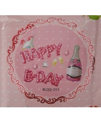 Set baloane Happy Birthday unicorn