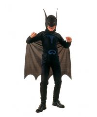Costum Carnaval Copii Liliac Batman