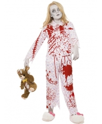 Costum Halloween copii pijama zombie