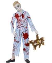 Costum Halloween copii zombie pijama