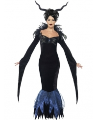 Costum Halloween adulti femei Maleficent