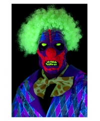 Masca horror Halloween clown culori UV
