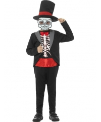 Costum Halloween copii Day of the Dead