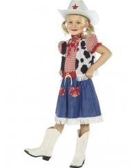 Costum Carnaval Copii Cowgirl Sweetie