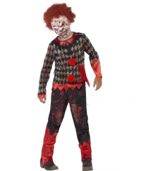 Costum Hallowen copii Clown Zombie