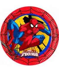 Set farfurii mari Spiderman Power