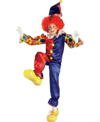 Costum carnaval copii Clown Bubbles