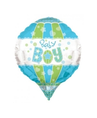 Balon folie aerostatic Baby Boy