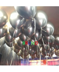 Balon latex chrome cu heliu